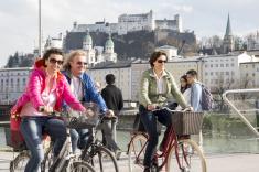 Salzburg mit dem Fahrrad-Tour